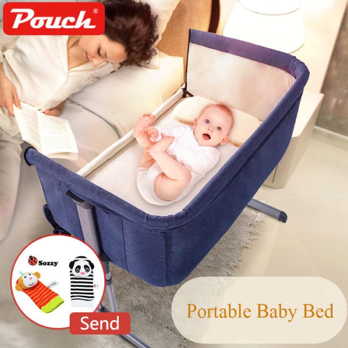Bedside Crib Baby Co-sleeper Bassinet