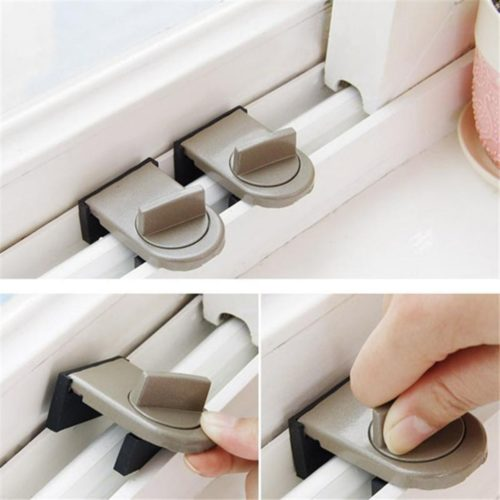 Sliding Window Lock Safety Stoppers
