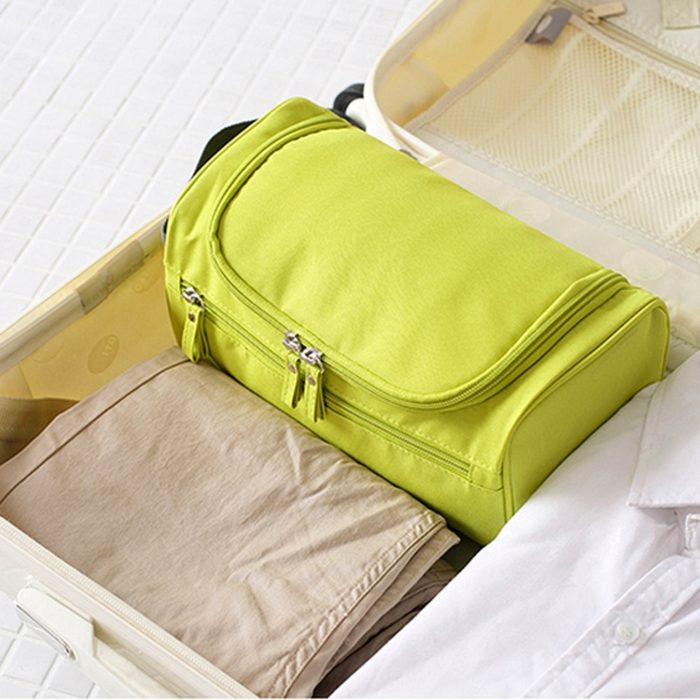 Travel Toiletry Bag Makeup Organizer
