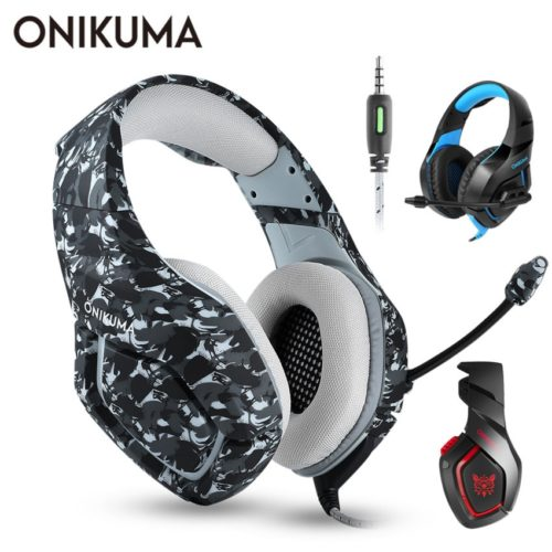 Gaming Headphone PS4 Microphone Headset
