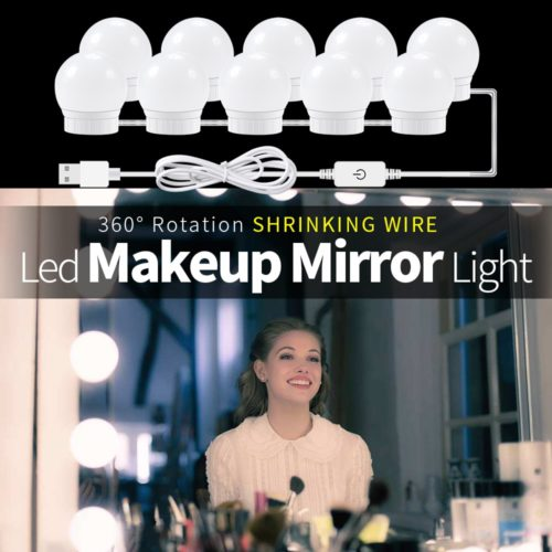 LED Mirror Lights USB LED 12V