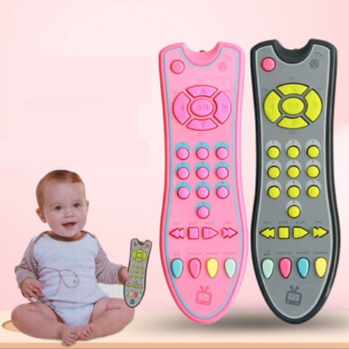 TV Control Remote Baby Music Mobile