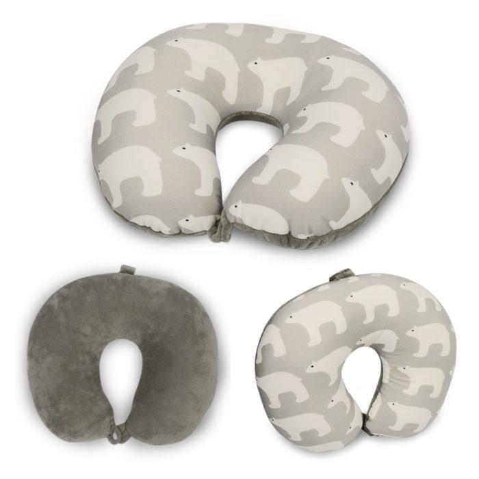 U Shaped Pillow Polar Bear Design