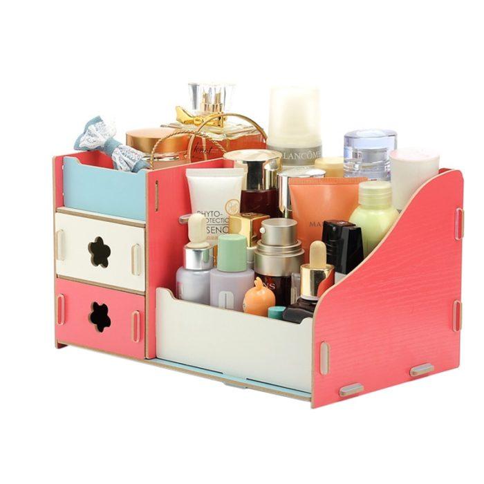 Storage Box Jewelry Makeup Organizer