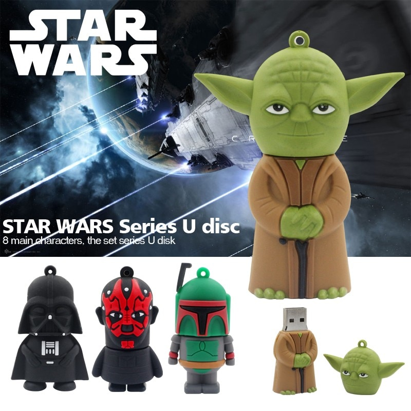 "STAR WARS YODA 8GB USB STICK 2.5/"" GREAT GIFT FIGURE FREE P/&P"