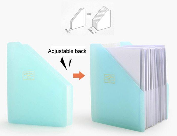 Expanding File Folder Document Organizer
