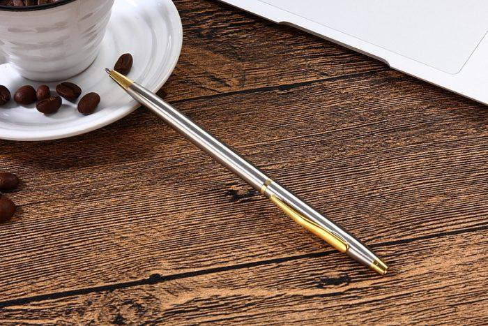 Ball Pen Stainless Steel Office Writer