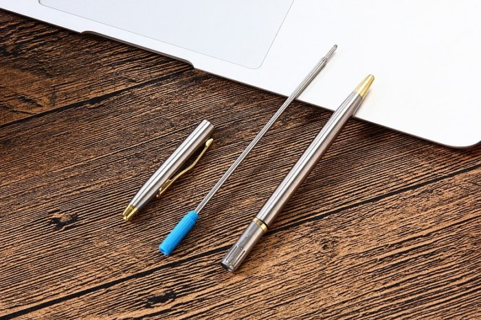 Ball Pen Stainless Steel Office Writer