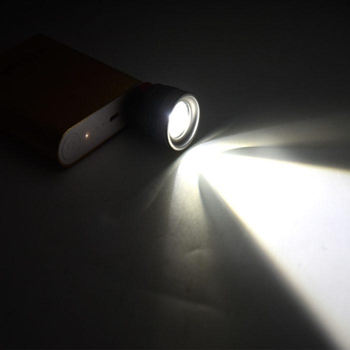 Tiny Flashlight USB Interface Torch