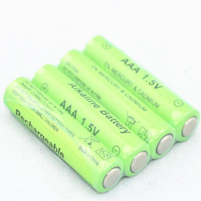 Rechargeable Batteries AAA Alkaline