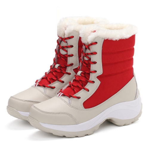 Ladies Snow Boots Waterproof Shoes