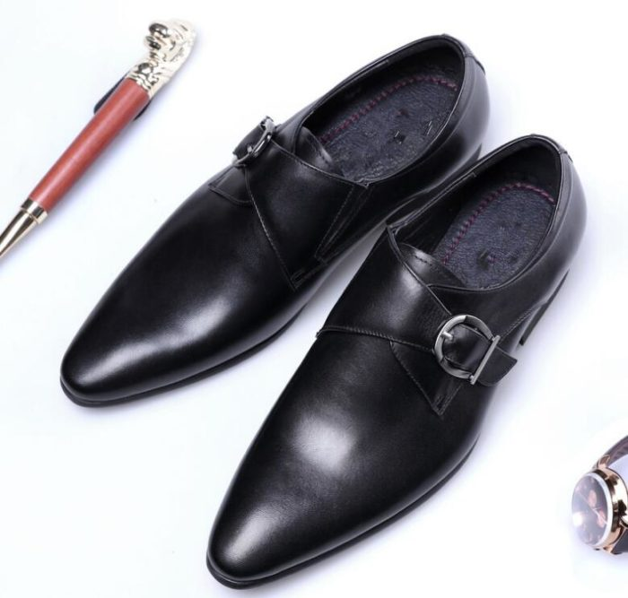 Oxford Shoes Men Classic Leather