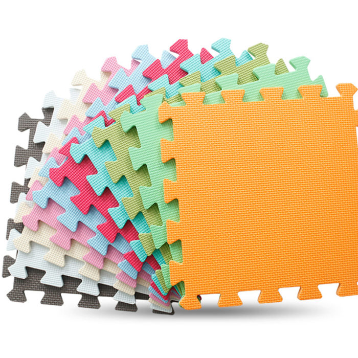 6pcs Puzzle Mat Foam Rubber Pads
