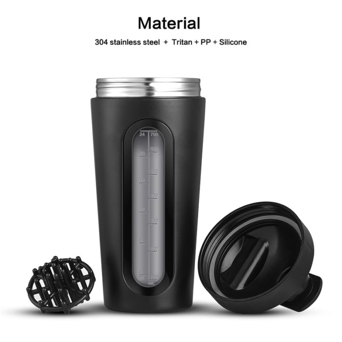 Protein Shaker Bottle Mixer 700ml