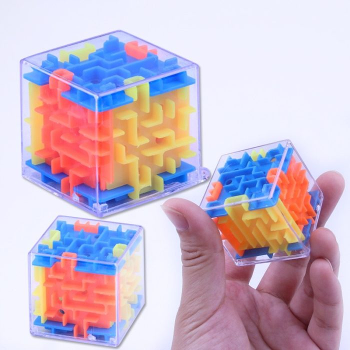 Maze 3D Cube Box Educational Toy