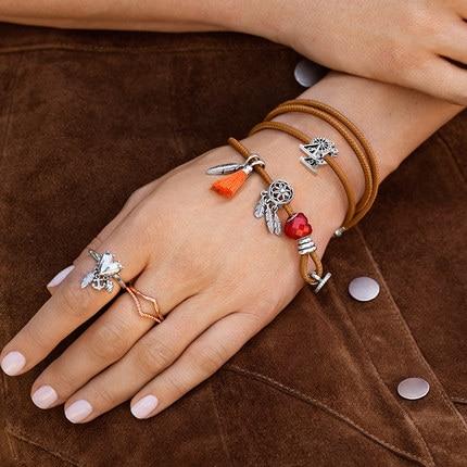 Silver Charms Jewelry Bracelet Trinkets