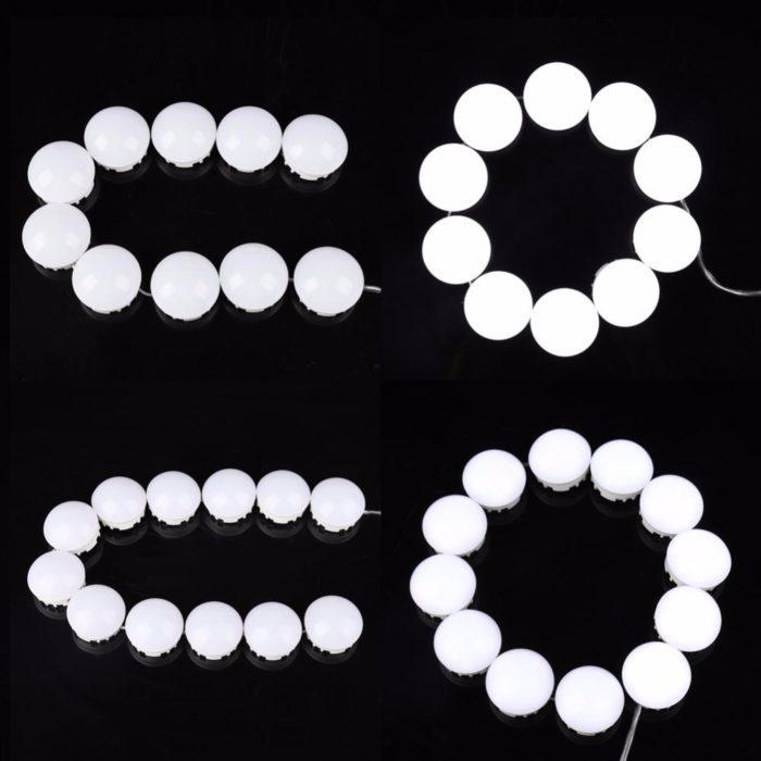 Bathroom Vanity Lights LED Bulbs