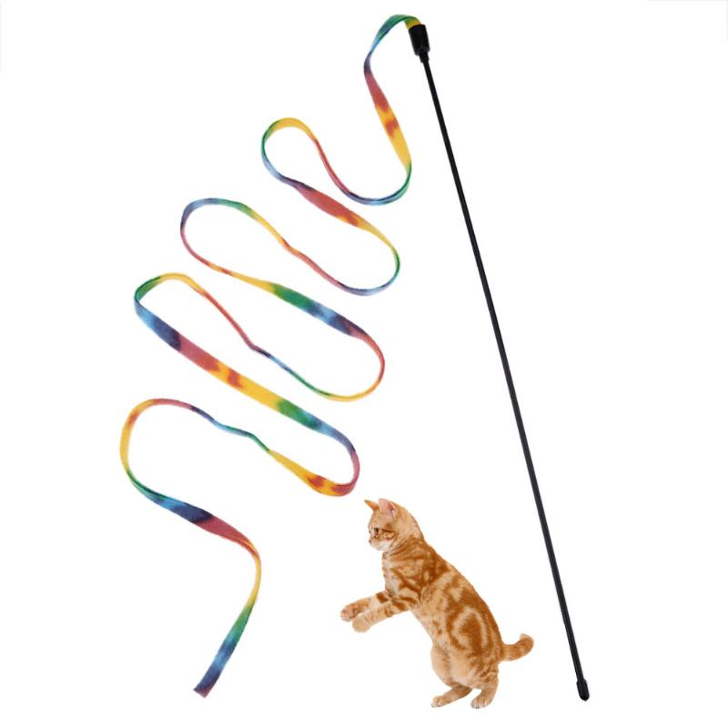 Interactive Cat Toys Teaser Wand