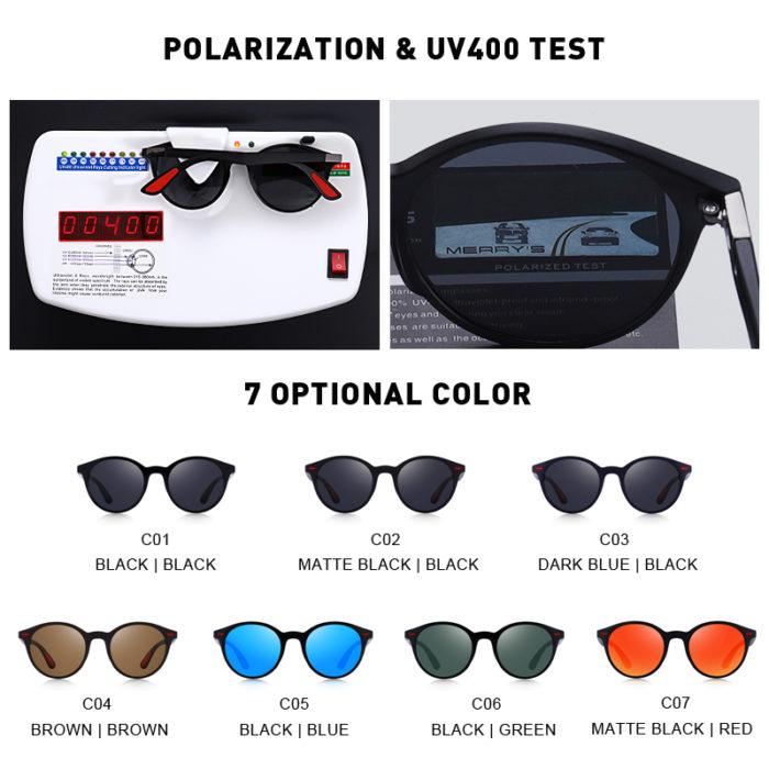 Polarized Glasses Bendable Temple
