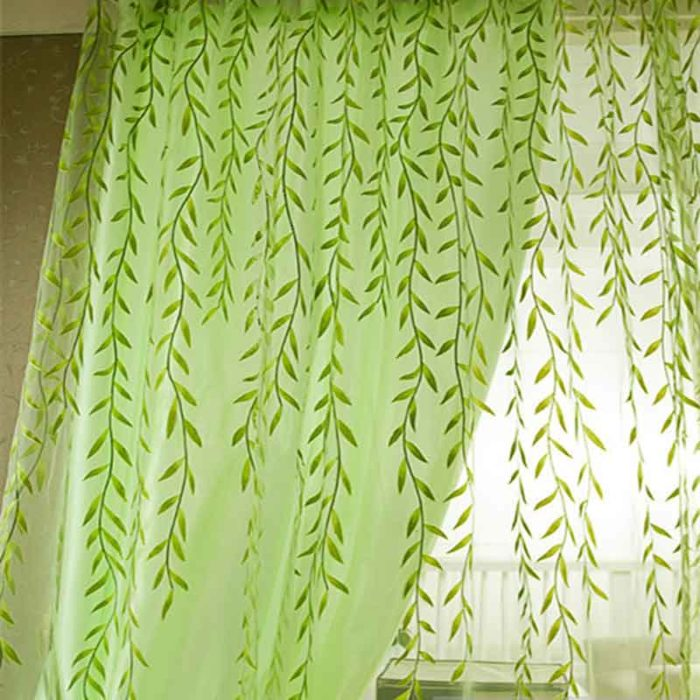 Window Curtains Pastoral Style