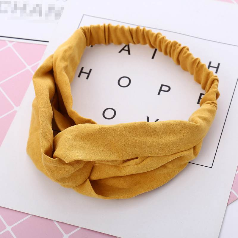Vintage Cross Knot Hair Band