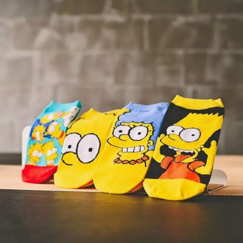 Cute Socks Simpsons Design