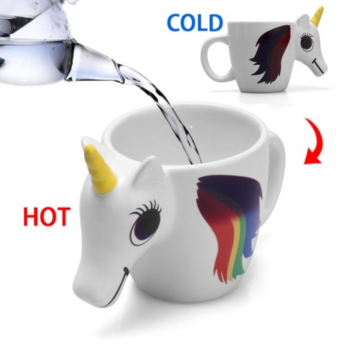 Magic Cup Unicorn Cartoon Mug