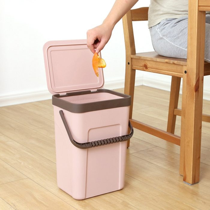 Garbage Bin Portable Trash Container