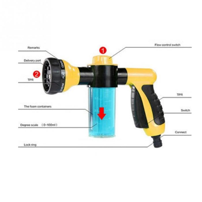 Car Wash Foam Gun Pressure Spray
