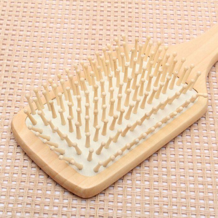 Paddle Brush Pointed Handle