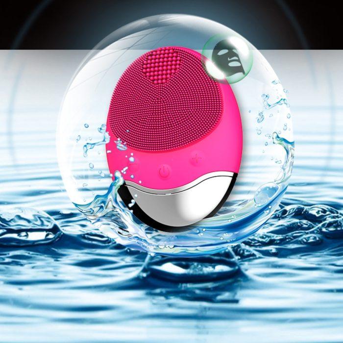 Face Exfoliator Brush Wireless Silicone