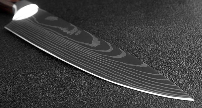 Chef Knife Santoku Kitchen Utensil