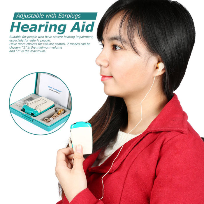 Hearing Aids Pocket Amplifier