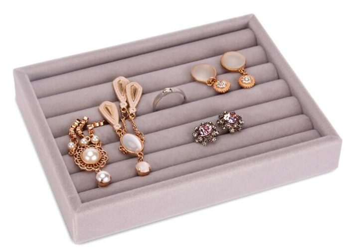 Jewelry Tray Accessories Organizer Box