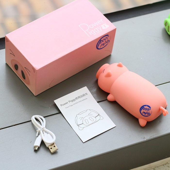 USB Power Bank Cute Pig 10000mAh