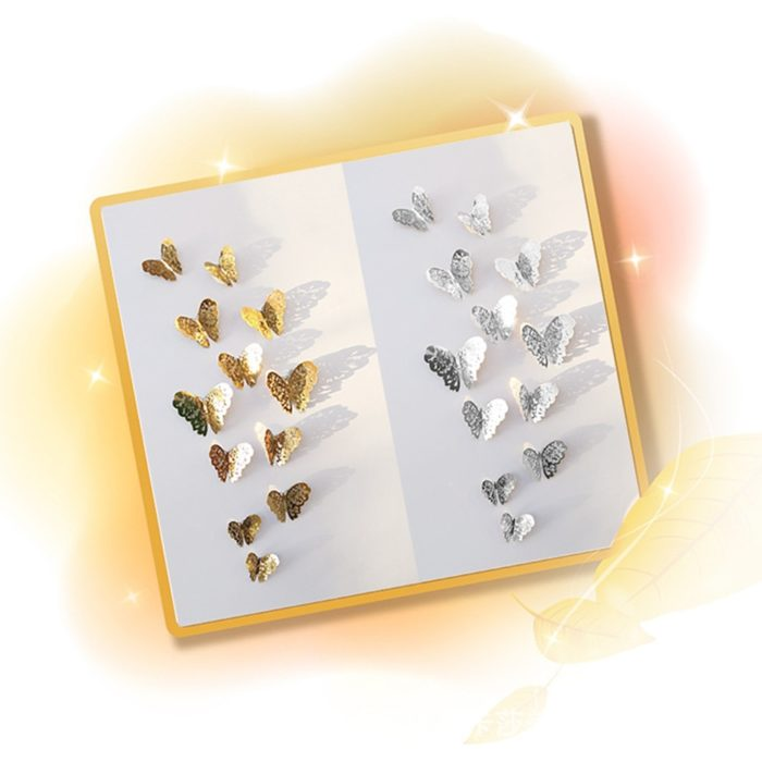 3D Wall Stickers Butterfly Design