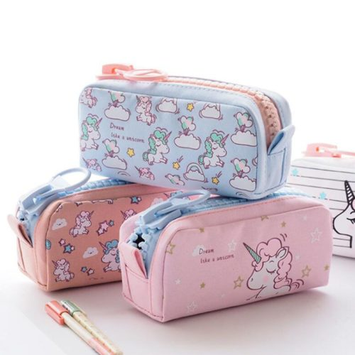 Pencil Case Unicorn Design