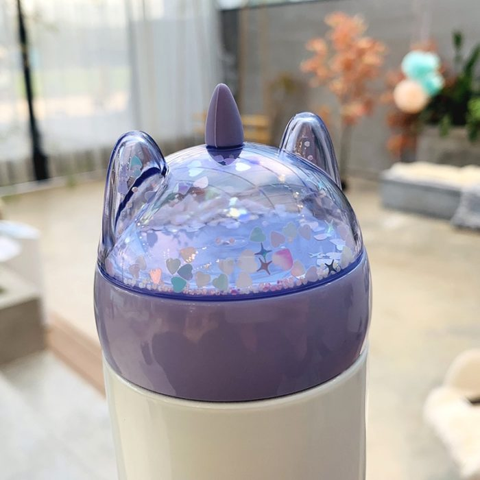 Unicorn Water Bottle Thermos Cup