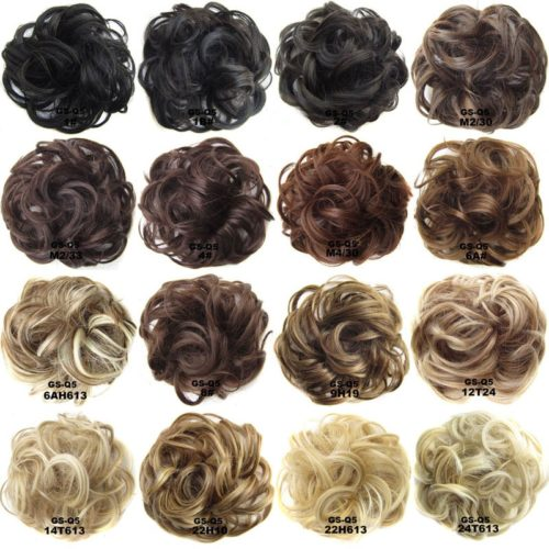 Hair Bun Extension Synthetic