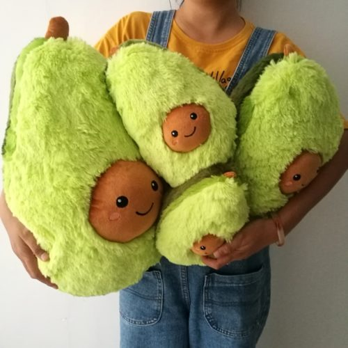Soft Toys Avocado Stuffed Fruit