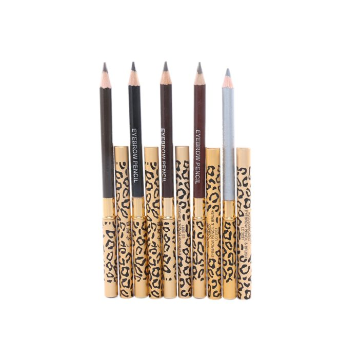Brow Pencil Waterproof Leopard Design