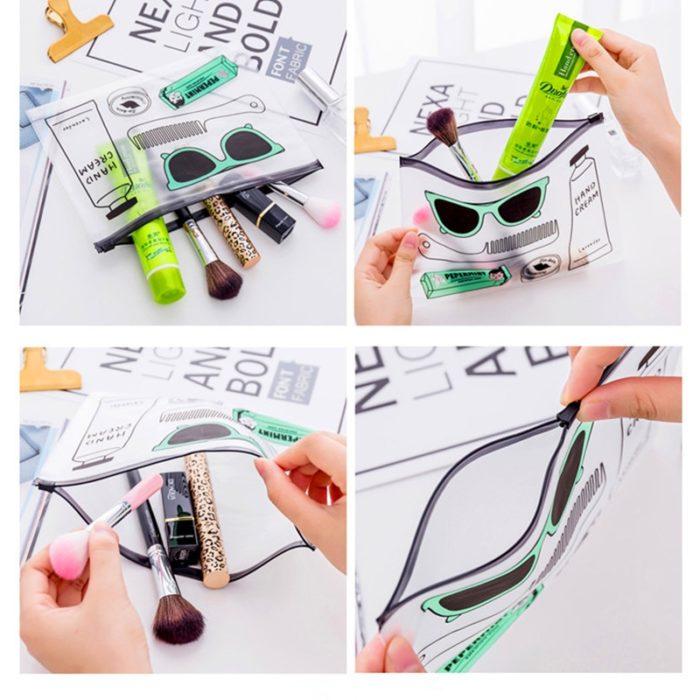 PVC Bag Makeup Kit Pouch