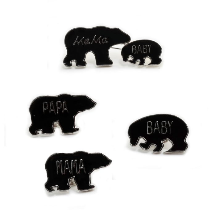 Brooch Pin Animal Fashion Badges