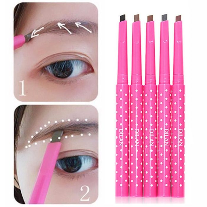 Waterproof Eyebrow Pencil With Slanted Tip