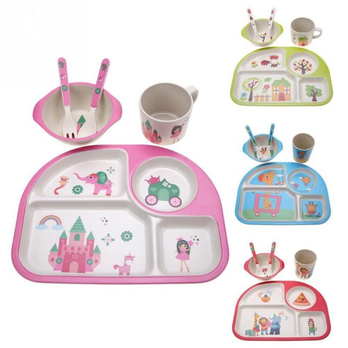 Dinnerware Colorful Childrens Set