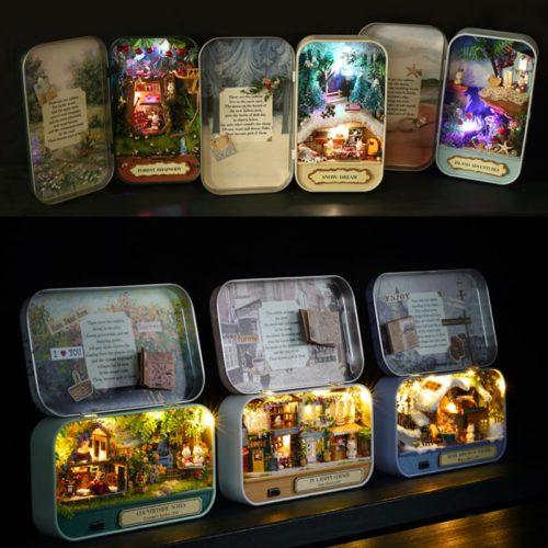 Doll House Set Miniature Themes