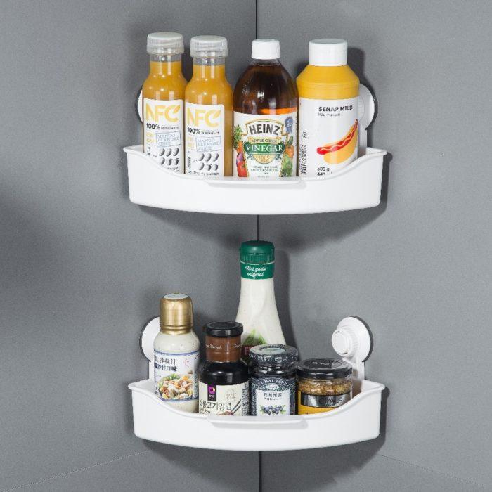 Storage Racks Plastic Corner Shelf