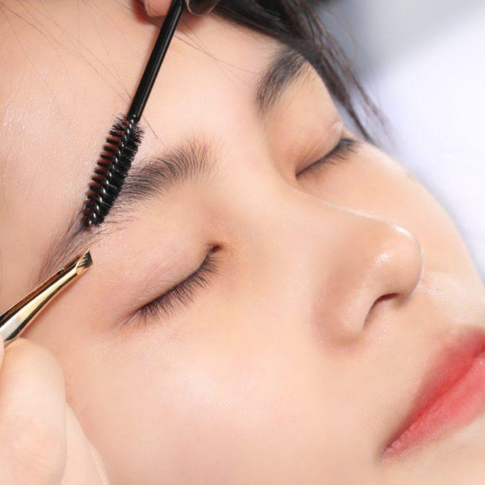 Eyebrow Brush Disposable Set