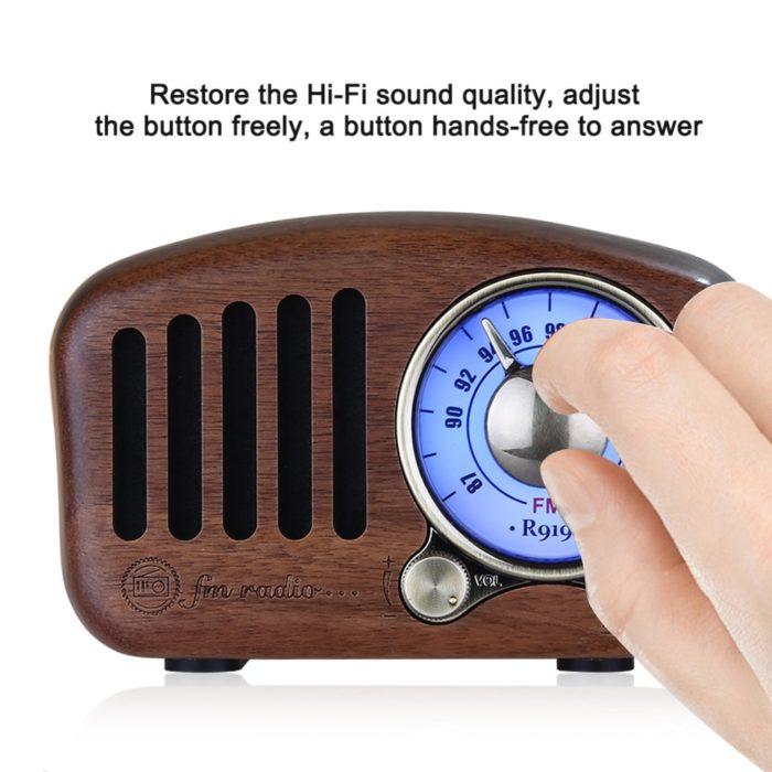 Portable Radio Classic Style