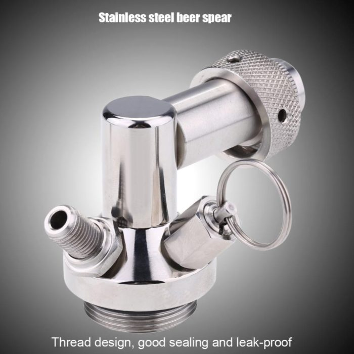 Beer Keg 2L Stainless Steel Container